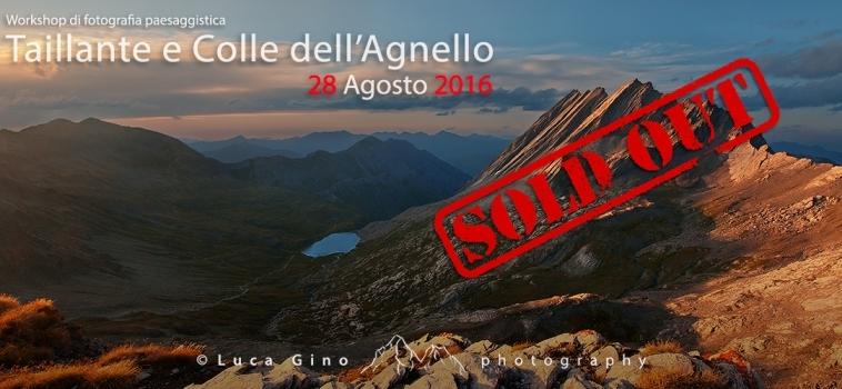Taillante e Colle dell'Agnello – 28 Agosto 2016
