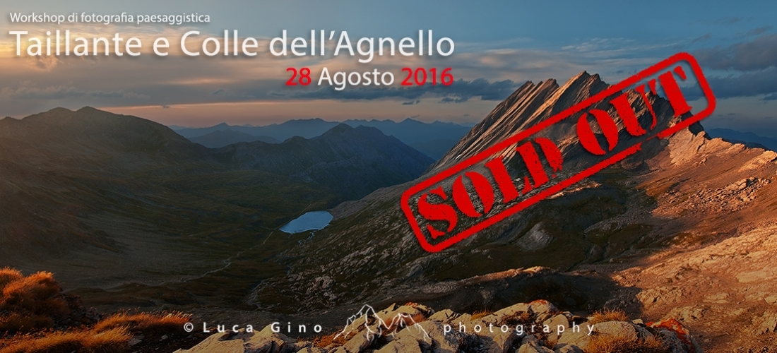 Taillante e Colle dell'Agnello – 28 Agosto 2016