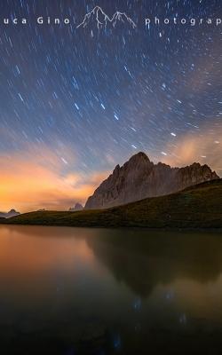 Rocca La Meja, le nuvole e le stelle
