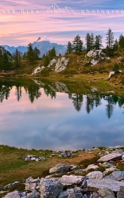 Il Lago Nero al Tramonto