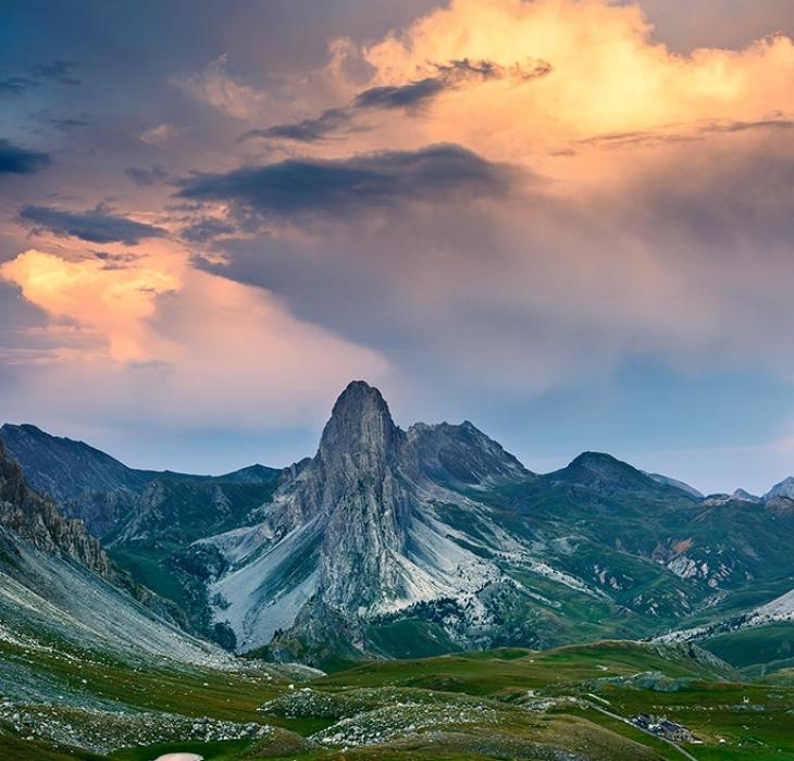 Rocca La Meja e l'altopiano della Gardetta