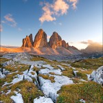 Tre Cime Sunset