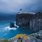 Il faro di Neist Point, Scozia, Isola di Skye