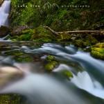 Gias Fontana waterfall