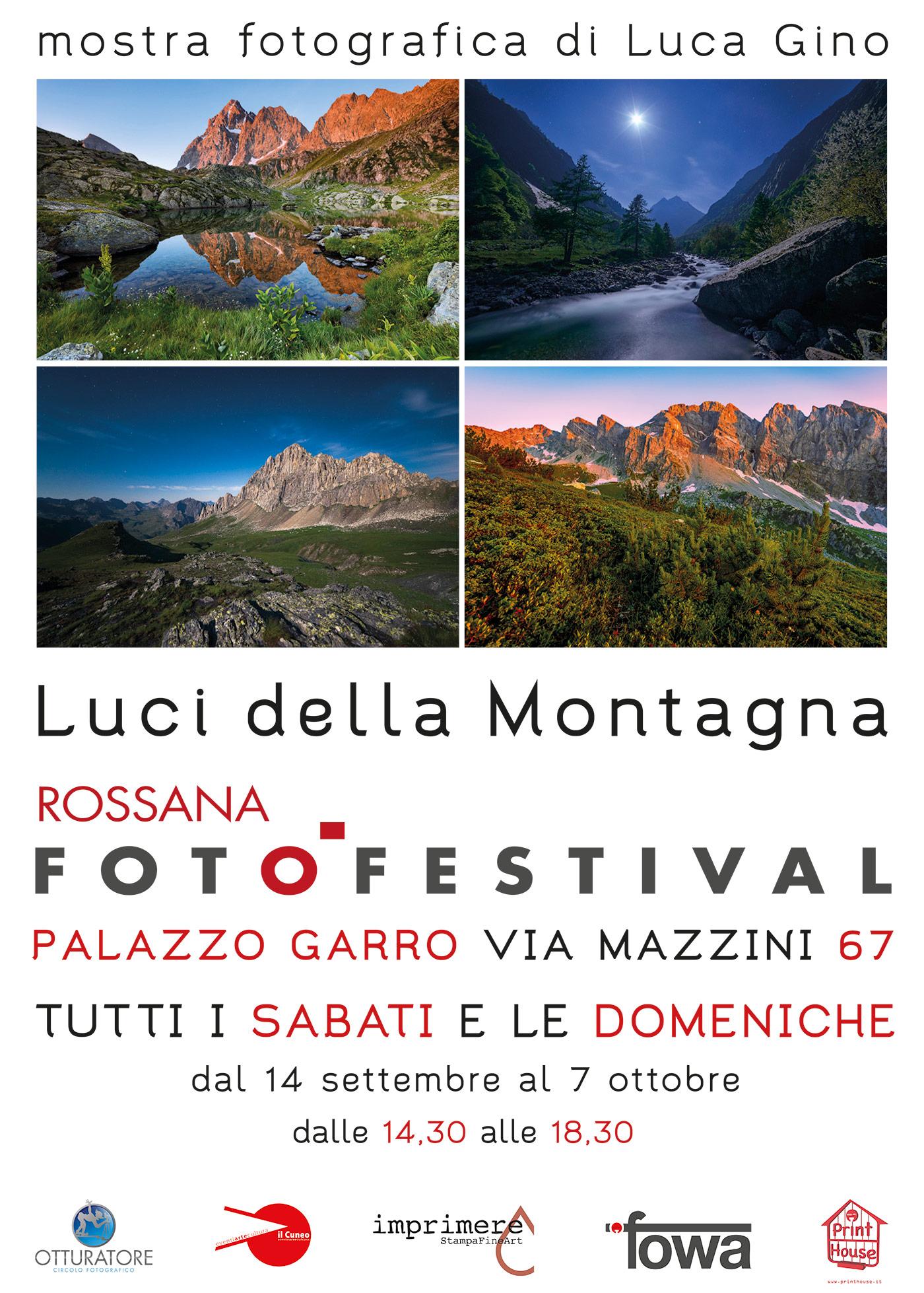 La Mostra Fotografica dedicata al paesaggio delle Alpi Cuneesi a Rossana