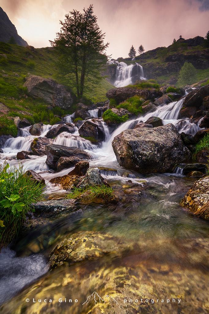 La Cascata del Pian del Re, Fiume Po, Crissolo