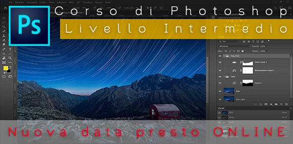 Corso intermedio di Adobe Photoshop