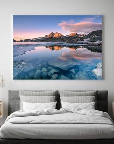 Disgelo al lago di Sant'Anna