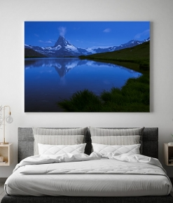 Il Matterhorn all'ora Blu