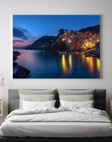 L'ora blu a Riomaggiore
