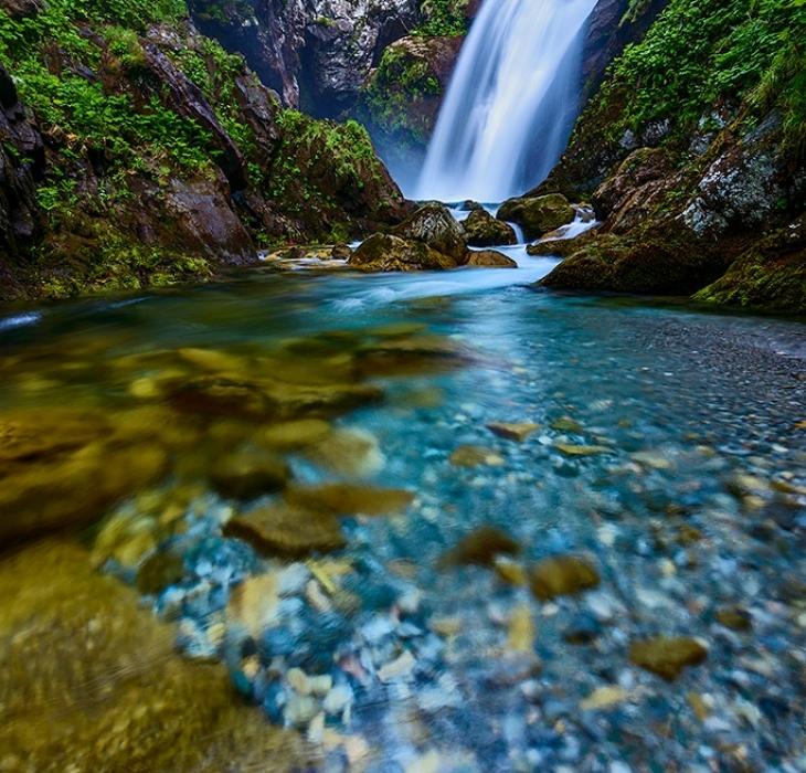 La Cascata di Gias Fontana