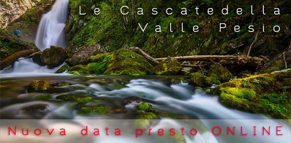 L'acqua e le cascate della Valle Pesio, workshop di fotografia