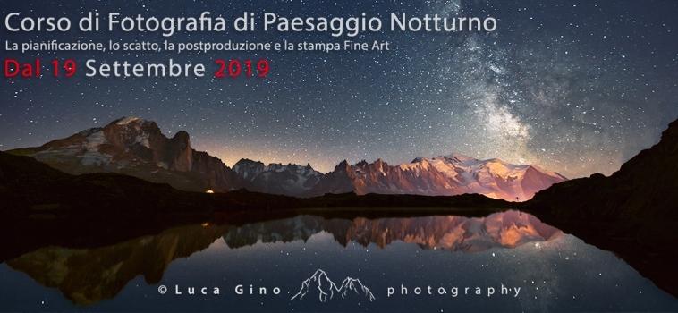 Il paesaggio notturno – Dalla pianificazione alla stampa – Corso avanzato di fotografia