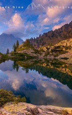 Il Monte Matto riflesso nel Lago Valcuca