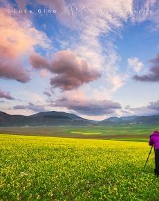 Fotografo a Castelluccio di Norcia