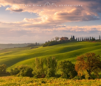 Il Cerrecchio Country House all'alba