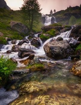 La Cascata del Pian del Re