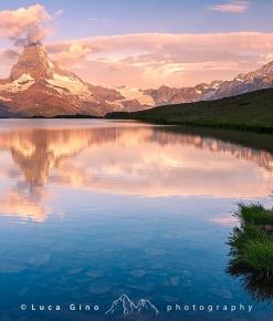 Alba al Lago Stellisee