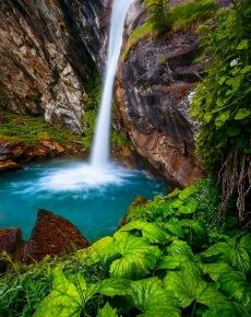 La Cascata del Pis del Passet