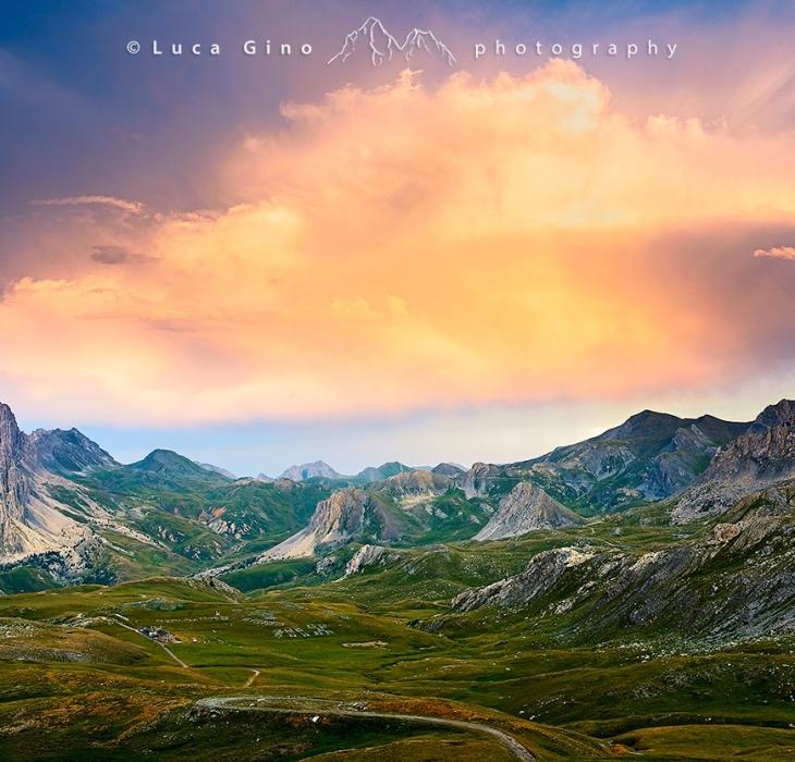 L'Altopiano della Gardetta al tramonto