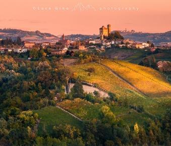Inizio d'autunno a Serralunga d'Alba