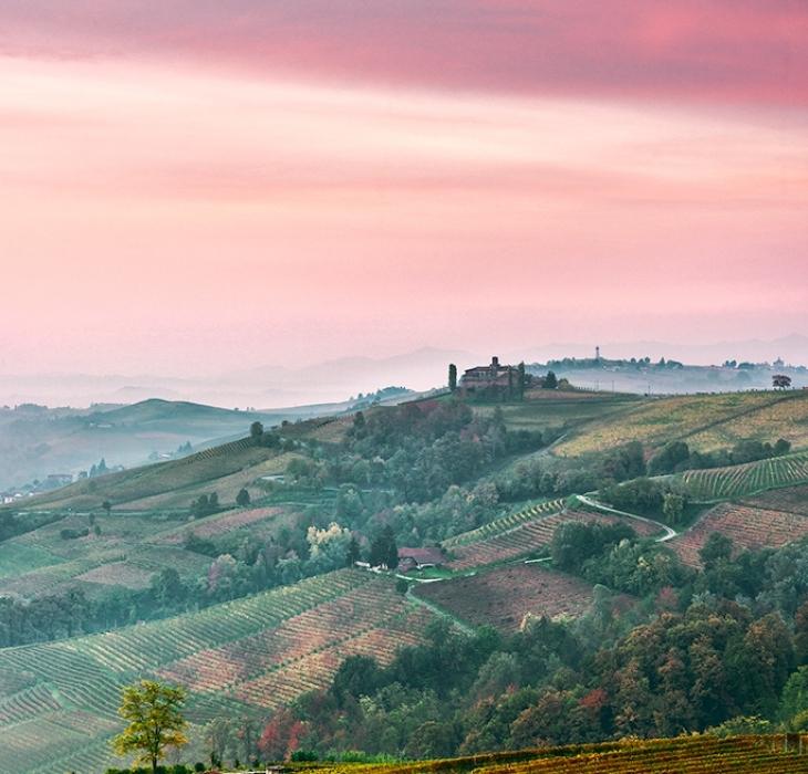 Barolo sunrise