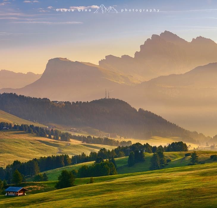 L'Alpe di Siusi e le Odle