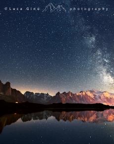 l Monte Bianco e la Via Lattea