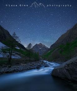 Il torrente gesso e le stelle