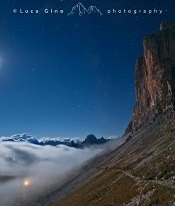 Il Sagittario, la Luna e le Tre Cime