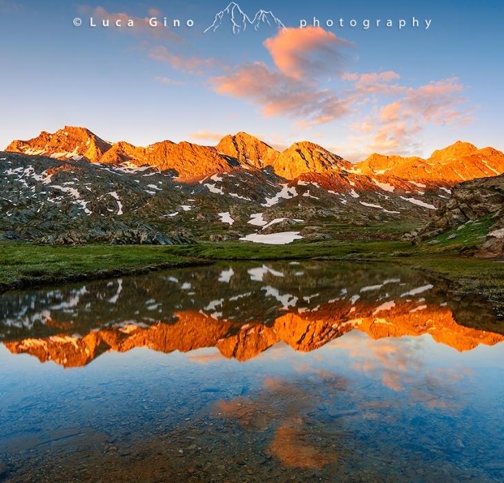 Lago Bes all'alba