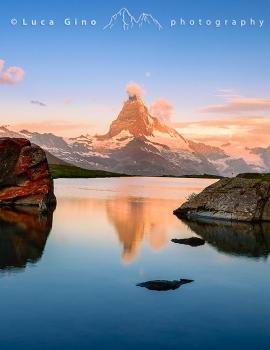 Il Matterhorn all'alba