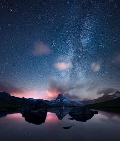 Il Matterhorn e la Via Lattea