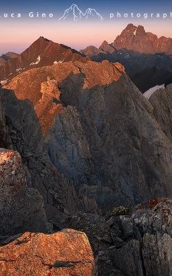 Tramonto sul Monviso ed il Pic d'Asti