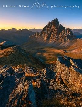 Rocca La Meja al tramonto