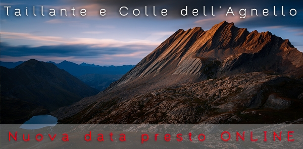 Taillante e colle dell'Agnello, workshop di fotografia