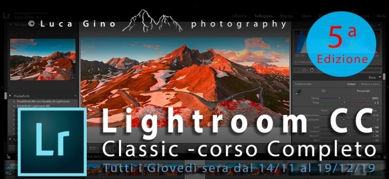 Corso Completo di Adobe Lightroom CC Classic