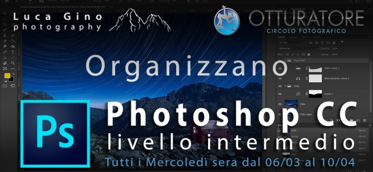 Corso Intermedio di Adobe Photoshop CC