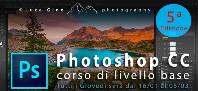 Corso Base di Adobe Photoshop CC