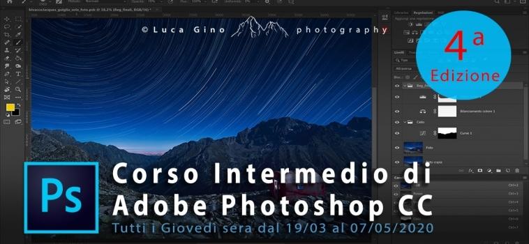 Corso Intermedio di Adobe Photoshop CC