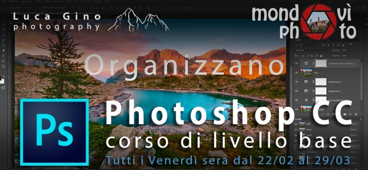 Corso Base di Adobe Photoshop CC