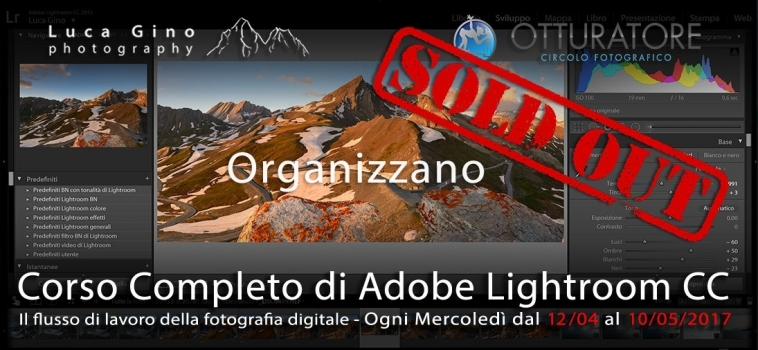 Corso Completo di Adobe Lightroom CC