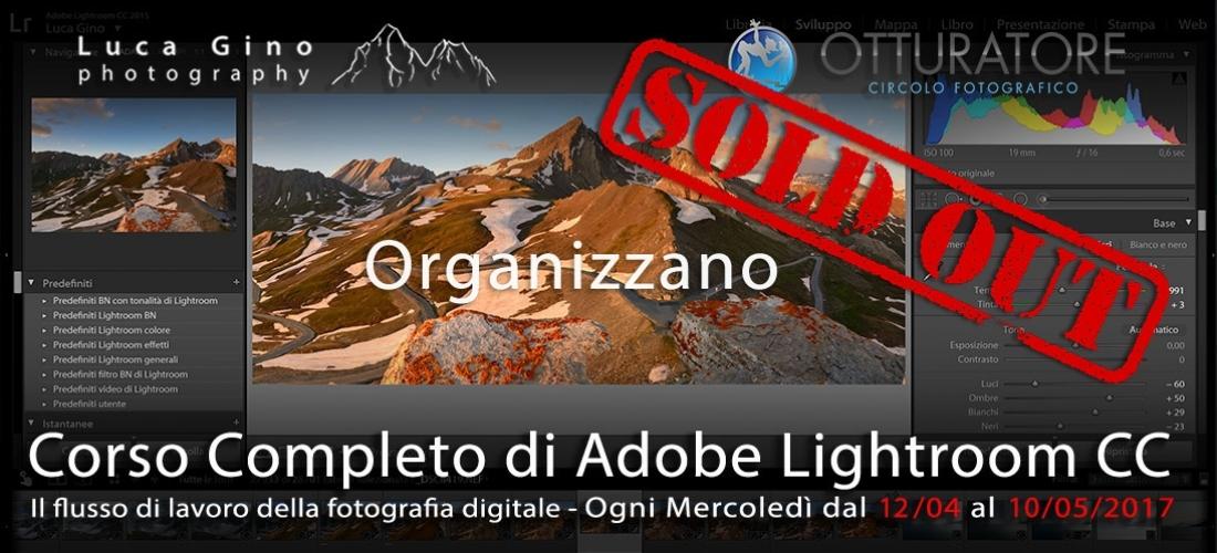 Corso Completo di Adobe Lightroom CC