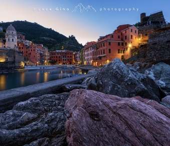 Prime luci dell'alba a Vernazza