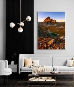 Rocca La Meja ed il monviso