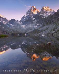 Il Lago Fiorenza ed il Monviso