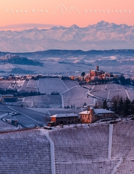 Le Langhe in inverno.
