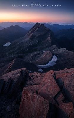 Ultima luce sulla Cresta della Taillante