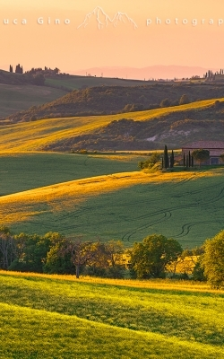 Tramonto in Val d'Orcia
